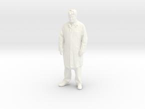 Printle T Homme 047 - 1/24 - wob in White Processed Versatile Plastic
