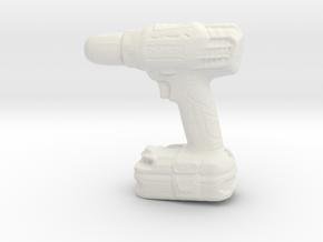 Prinle Driller in White Natural Versatile Plastic