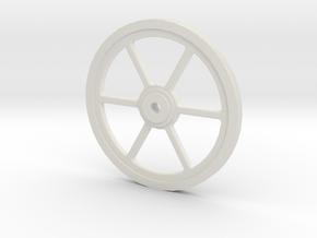 45mm sheaves in White Natural Versatile Plastic