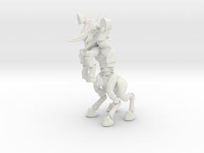 Darkhorn 003 in White Natural Versatile Plastic