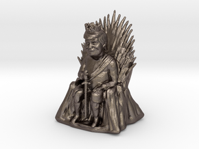 Trump as Game of Thrones Character With Sword in Stainless Steel: Medium