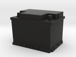 Battery 12V - 1/10 in Black Natural Versatile Plastic