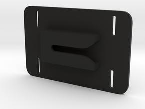 Tactical Universal Gun Clip Velcro in Black Natural Versatile Plastic