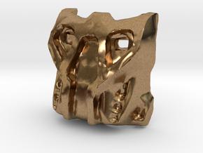 Krana Su in Natural Brass
