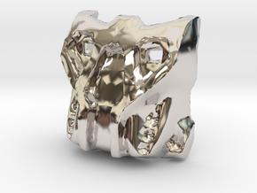 Krana Su in Rhodium Plated Brass