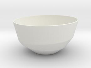 BOL 01 in White Natural Versatile Plastic