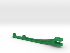 Zugmaul Ballenpresse in Green Processed Versatile Plastic