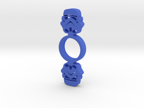 Storm Trooper Fidget Spinner in Blue Processed Versatile Plastic