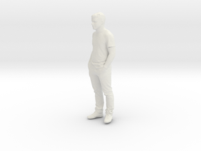 Printle C Homme 100 - 1/24 - wob in White Natural Versatile Plastic