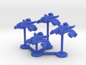 Colour Rim Bastion Heavy Bomber Wing in Blue Processed Versatile Plastic