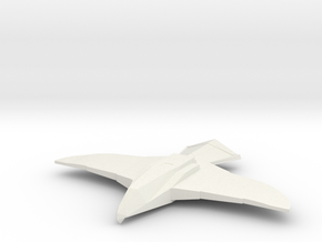 Hawk (Buck Rogers), 1/270 in White Strong & Flexible