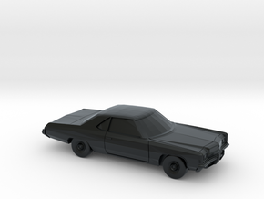 1/64 1972 Chevrolet Impala Sport Coupe in Black Hi-Def Acrylate