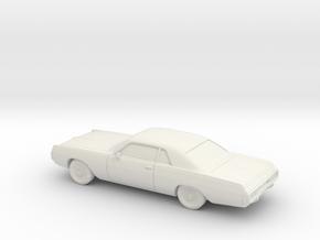 1/64 1971-72 Dodge Polara Coupe in White Strong & Flexible