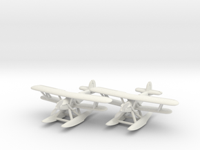 Hawker Osprey (two airplanes set) 1/285 6mm in White Natural Versatile Plastic