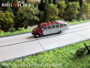 Opel Blitz Strassenzeppelin (N 1:160) in Smooth Fine Detail Plastic