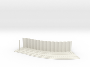 MARKET SUBWAY SLEAVE HO SCALE 45 CURVE PT1 in White Natural Versatile Plastic