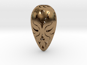 Holllow Seed 1 in Natural Brass