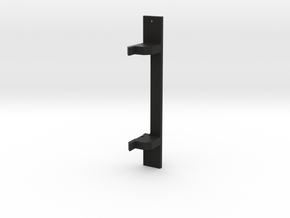 CMAX+XJ Front Body Mount in Black Natural Versatile Plastic