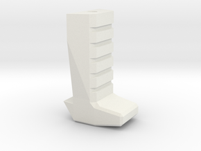 Gladius V1 Grip (part 3 of 5) in White Natural Versatile Plastic
