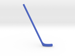 Hockey Stick for ModiBot: Bent (Right-handed) in Blue Processed Versatile Plastic
