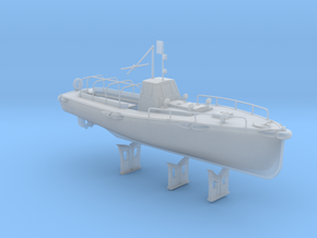 1/72 IJN Motor Boat Cutter 11m 60hp in Smooth Fine Detail Plastic