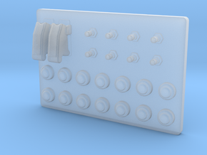 Button Box Type 1 - 1/10 in Smooth Fine Detail Plastic