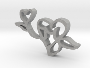 The Love Flower in Aluminum
