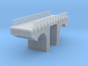 Polish Arched Bridge 4 Z Scale in Frosted Ultra Detail