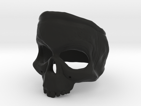 SkullRing in Black Natural Versatile Plastic: 12 / 66.5
