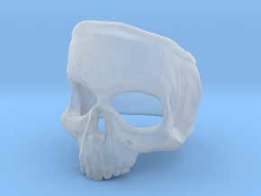 SkullRing in Smooth Fine Detail Plastic: 12 / 66.5