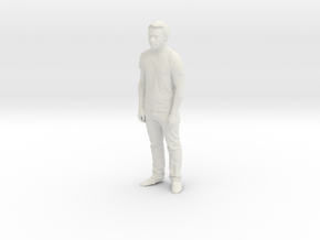 Printle C Homme 167-w/o base in White Strong & Flexible