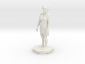 Printle C Femme 104 - 1/20 in White Natural Versatile Plastic
