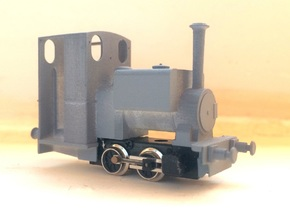 *REDUCED* 009 Kerr Stuart 'Wren' - Enclosed Cab (4 in Smooth Fine Detail Plastic