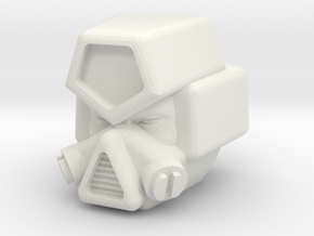 IDW Strika head for CW Motormaster in White Strong & Flexible