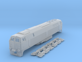 TT Scale MZ III locomotive in Smooth Fine Detail Plastic