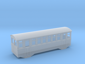 1/80 railbus trailer  in Frosted Ultra Detail
