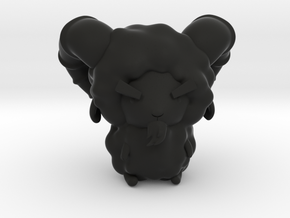 Chibitized! Hades in Black Natural Versatile Plastic: Small