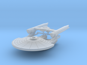 Uss Abrams 2500 in Smooth Fine Detail Plastic