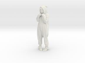 Printle C Femme 255 - 1/24 - wob in White Natural Versatile Plastic