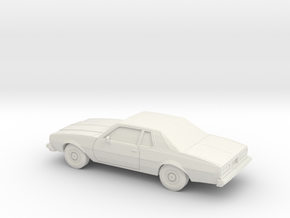 1/64 1977-78 Chevrolet Impala Coupe in White Strong & Flexible