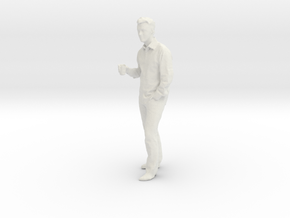 Printle C Homme 201 - 1/24 - wob in White Natural Versatile Plastic
