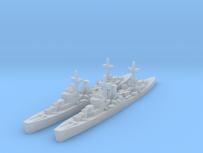 Leander class (WWII) in Smooth Fine Detail Plastic
