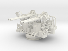 Best Cost 1/35 40mm Bofors Quad Mount in White Natural Versatile Plastic