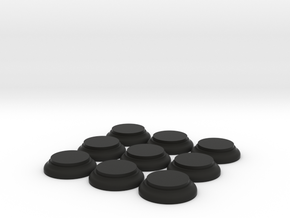 9off Dome Bases Large in Black Strong & Flexible