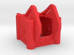 RAF POD - Universal FPV Racing Drone Pod in Red Processed Versatile Plastic