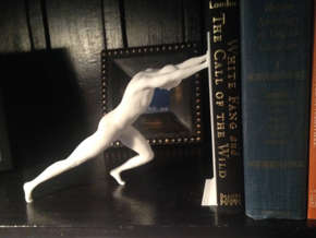 Bookend in White Strong & Flexible