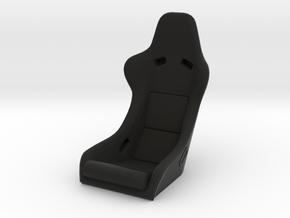 Race Seat - RType 2 - 1/10 in Black Natural Versatile Plastic