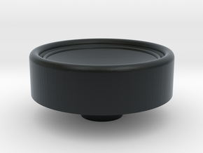 Russian HAT knob in Black Hi-Def Acrylate