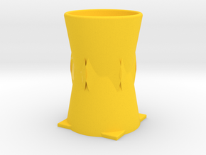 vase in Yellow Strong & Flexible Polished