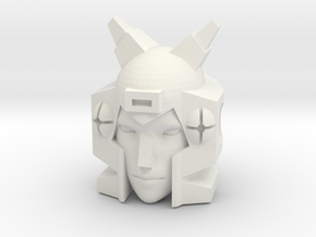 Elita One head for First Edition Prime Arcee in White Natural Versatile Plastic